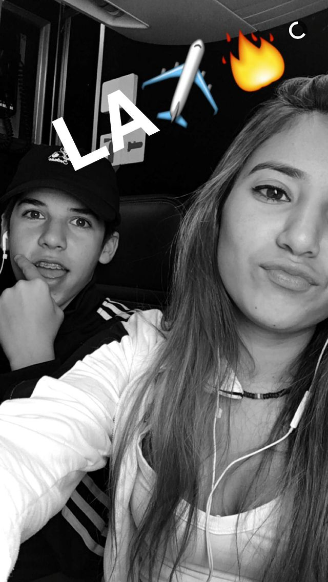 Sibling goals (@MarioSelman). (@CatSelman).  On Instagram Snapchat Twitter and Mario on YouNow