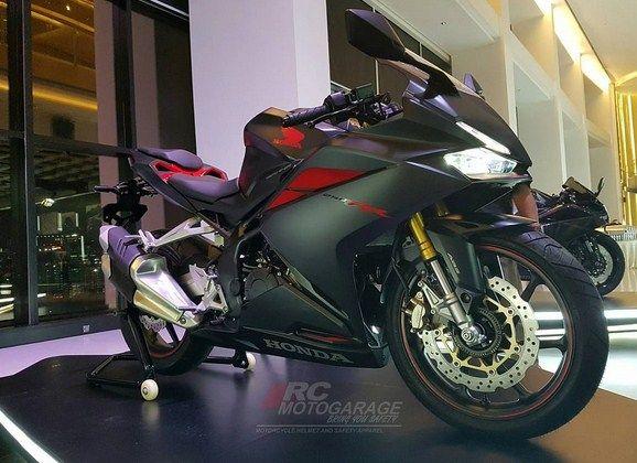 Honda CBR250RR Mat Gunpowder Black Metallic