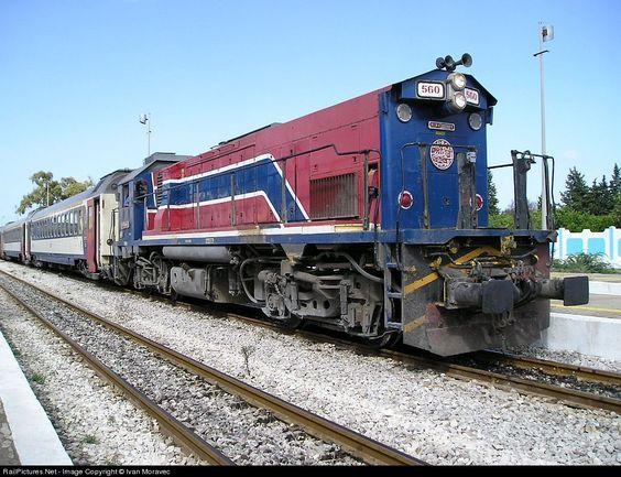 RailPictures.Net Photo: 560 Societé Nationale de Chemins de Fer Tunisiens (SNCFT) 91 91 at Bir Bouregba, Tunisia by Ivan Moravec: