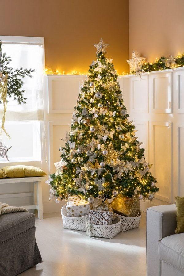 13+ Decoracion de navidad en dorado ideas