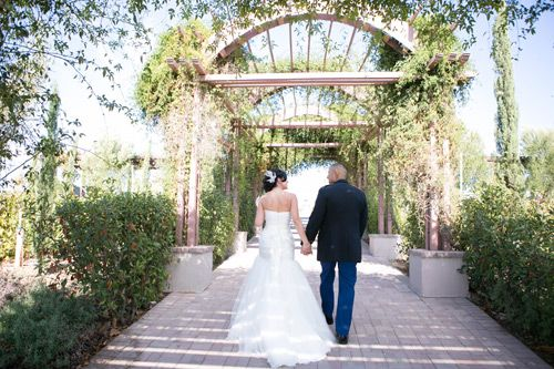 Amber & Roberto's real wedding at Mount Palomar Winery #wedding #venue