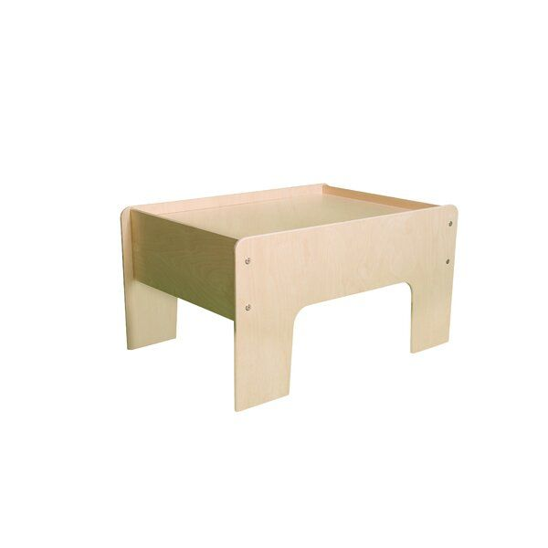 Torquay Kids Rectangular Train Table Toddler Play Table Kid