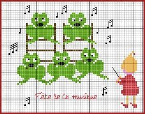 Je peux vous dire qu'il va y avoir un sacré concert chez les lutins ! Lutinou s'est improvisé chef d'orchestre pour ses copines les grenouillettes... Téléchargement : Clic Lutinette avait déjà pu juger de la qualité de la voix des grenouillettes sur les...