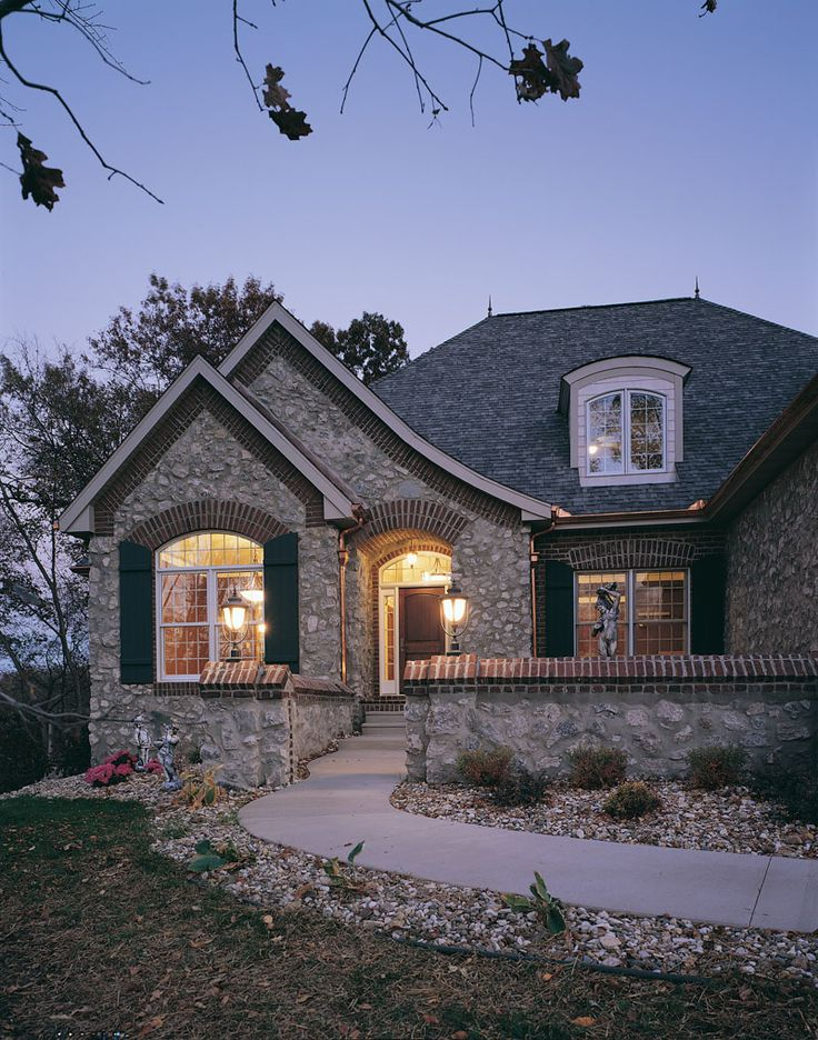 43 best exterior materials images on pinterest for French cottage floor plans