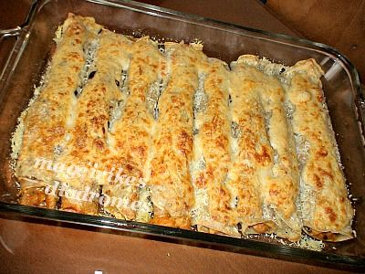 Κρέπες με κοτόπουλο και τυρί