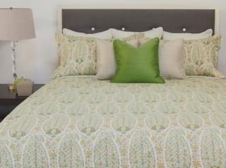 Paisley Spring Duvet Cover Available in 4 Sizes