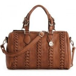 JtOleDA bRoWN BiG buDDhA sAtCheL SteVe MaDDEn PurSe HanDbag