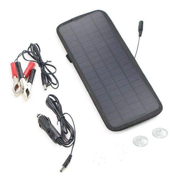 12v 4 5w Portable Power Solar Panel Battery Charger Features Product Is For Your Car Battery N Solar Panel Battery Car Battery Charger Charger Car