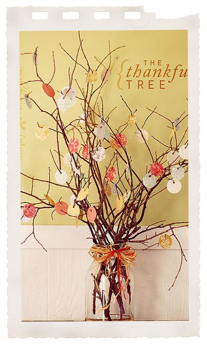 Thankful Tree - We will be doing one this year!