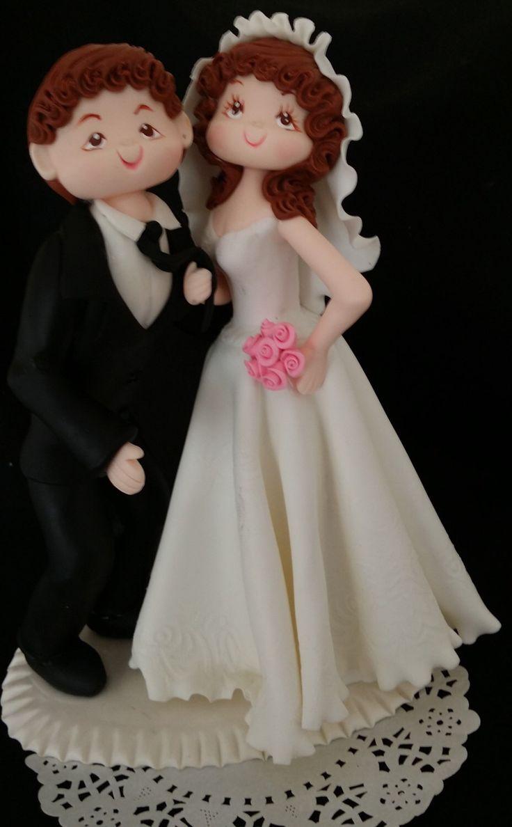 Wedding Cake, Funny wedding Cake Topper, Bride and Groom Figurine, Funny Cake Toppers, Wedding Cake Topper, Wedding Anniversary Cake Topper by CakeToppersBoutique on Etsy https://www.etsy.com/listing/248016245/wedding-cake-funny-wedding-cake-topper