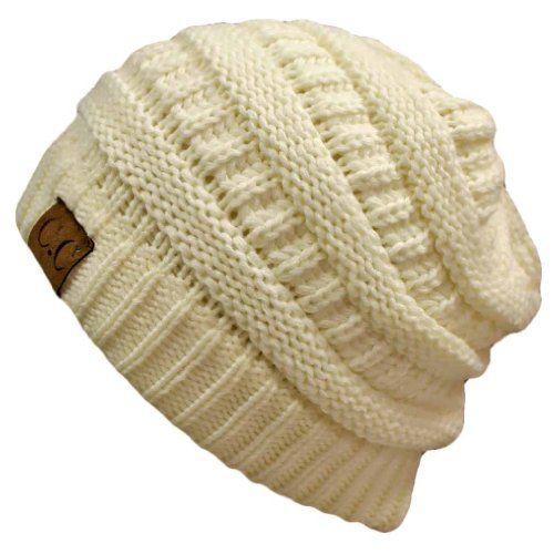 Winter White Ivory Thick Slouchy Knit Oversized Beanie Cap Hat Luxury Divas,http://www.amazon.com/dp/B009TB1DTS/ref=cm_sw_r_pi_dp_J-ZXsb0Q25T42W7C