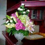 TOKO BUNGA MAWAR IMPORT JAKARTA: TOKO BUNGA 085716660717   KARANGAN BUNGA MEJA