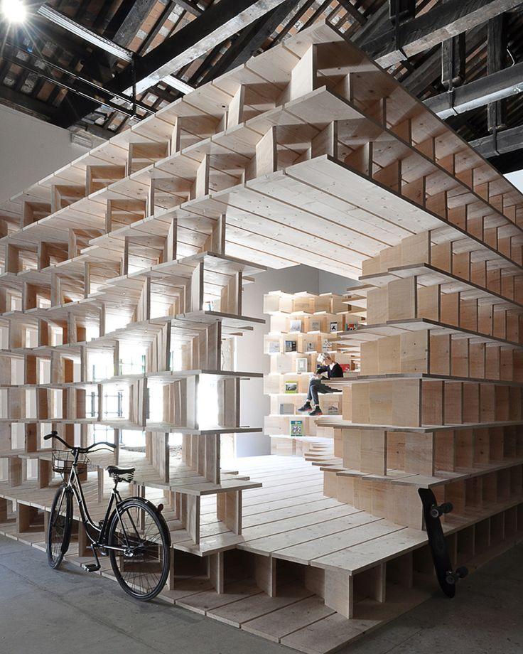 venice architecture biennale: slovenian pavilion