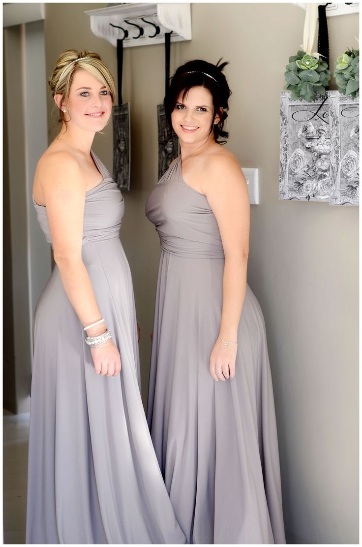 Taupe infinity dresses south africa custom made to size and colour only 7 10