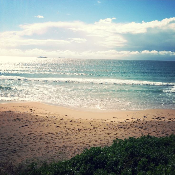 Gorgeous shot of Port Kembla Beach, NSW taken by one of our walk and talk psychologists on location
