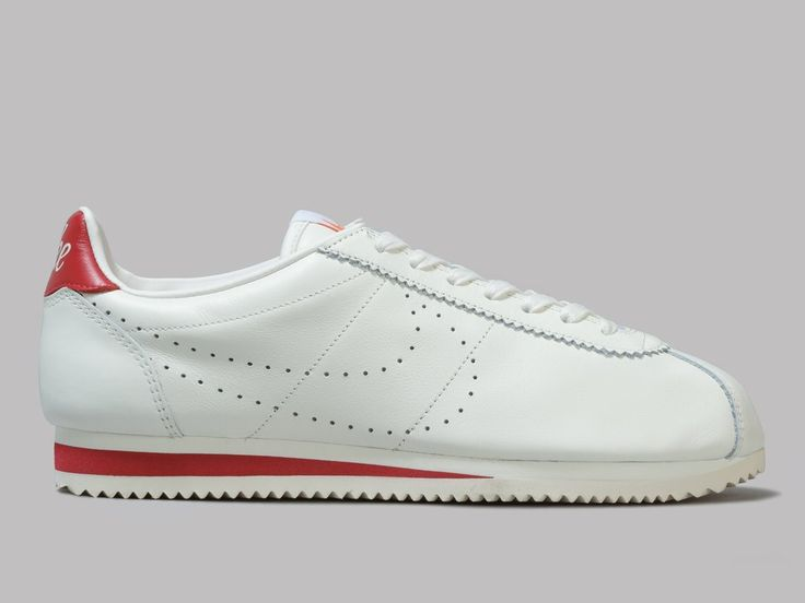 Nike Classic Cortez Leather Premium (Sail / Gym Red)