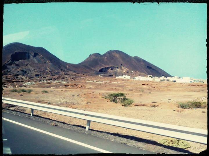 Na cestě do hlavního města Boa Visty Sal Rei. #SalRei