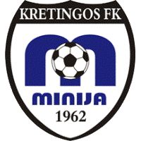 FK Minija Kretinga - Lithuania - - Club Profile, Club History, Club Badge, Results, Fixtures, Historical Logos, Statistics