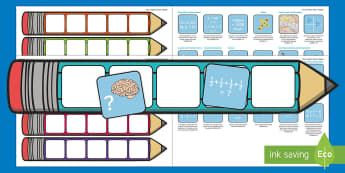 Year 5 Maths Pencil Targets Assessment Tracker - australia, maths, planning and assessment, number and algebra, geometry and measurement, statistics