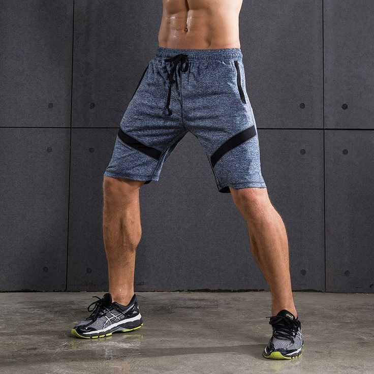 Men's Knee Length Gym Shorts