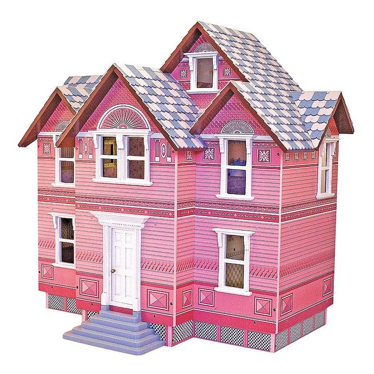 1000 ideas about victorian dollhouse on pinterest doll for Victorian kit homes