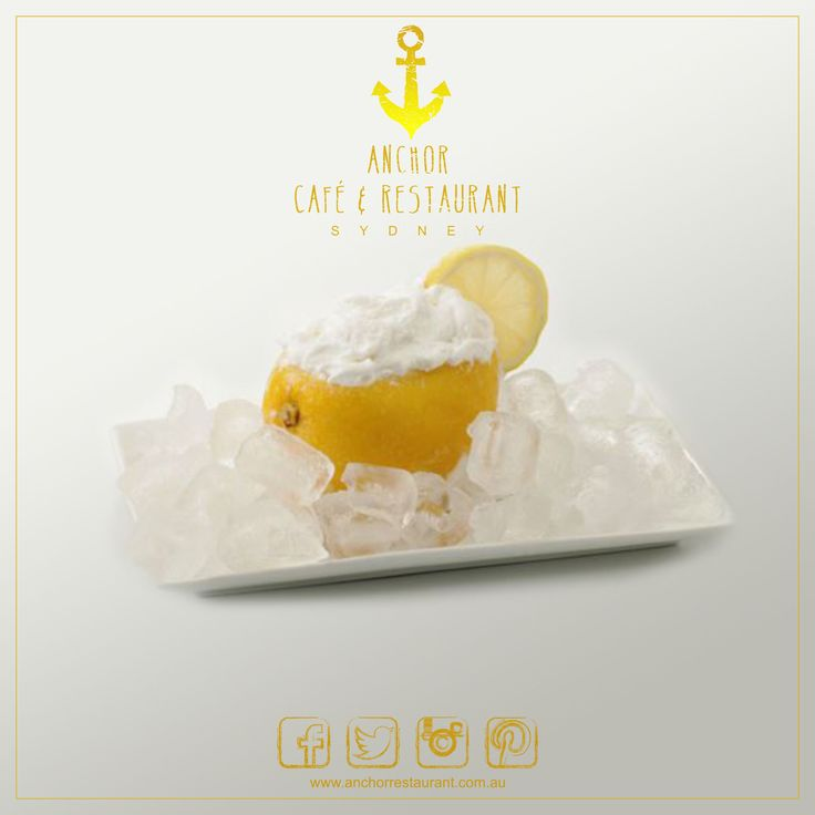 Lemon  Gelato Desserts ⚓ ANCHOR Cafe & Restaurant - Taste the difference! Light #lemongelato #dessert made from fresh #lemons and presented in its natural shell. Its crisp and tangy taste brings a freshness second only to lemons off the tree. #anchor #anchorcafe #anchorrestaurant #anchorestaurant #milsonspoint #kirribilli #lavenderbay #northsydney #northshore #mosman #bradfieldpark #sydneyrestaurants #sydneycafes #lemon #desserts #dessertporn #desserttable #icecream #affogato