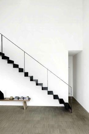 Die besten 25+ schwarze Treppe Ideen auf Pinterest Treppe - exklusives treppen design