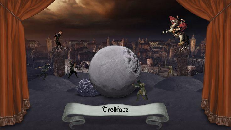 Rock of Ages - Troll boulder wallpaper (Steam trading card) RoA is a combination of rock-rolling action, strategy, and captivating art and music from different ages of history. | Get it on Steam http://store.steampowered.com/app/22230 Xbox360 http://marketplace.xbox.com/Product/Rock-of-Ages/66acd000-77fe-1000-9115-d80258410a9a PS3 https://www.playstation.com/en-us/games/rock-of-ages-ps3 #VideoGames #Gaming #RockOfAges #AtlusUSA #Indie #PCGame #PlayStation3 #Comedy #TowerDefense #Racing…
