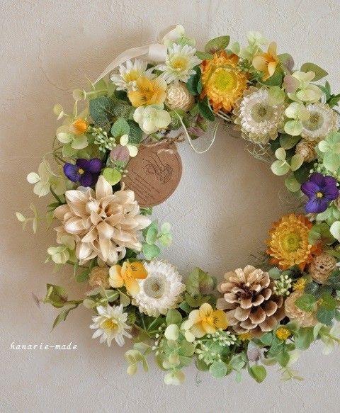 ひだまりの 春 :wreath