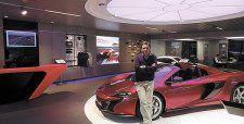Crece oferta de autos de alta gama: McLaren abre hoy su primera tienda regional en Chile