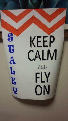 Pep rally posters