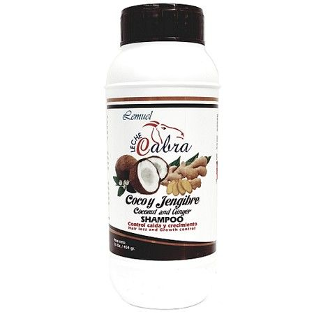 Leche Cabra Coconut and Ginger Shampoo 16 oz $5.39   Visit www.BarberSalon.com One stop shopping for Professional Barber Supplies, Salon Supplies, Hair & Wigs, Professional Product. GUARANTEE LOW PRICES!!! #barbersupply #barbersupplies #salonsupply #salonsupplies #beautysupply #beautysupplies #barber #salon #hair #wig #deals #sales #Leche #Cabra #Coconut #Ginger #Shampoo
