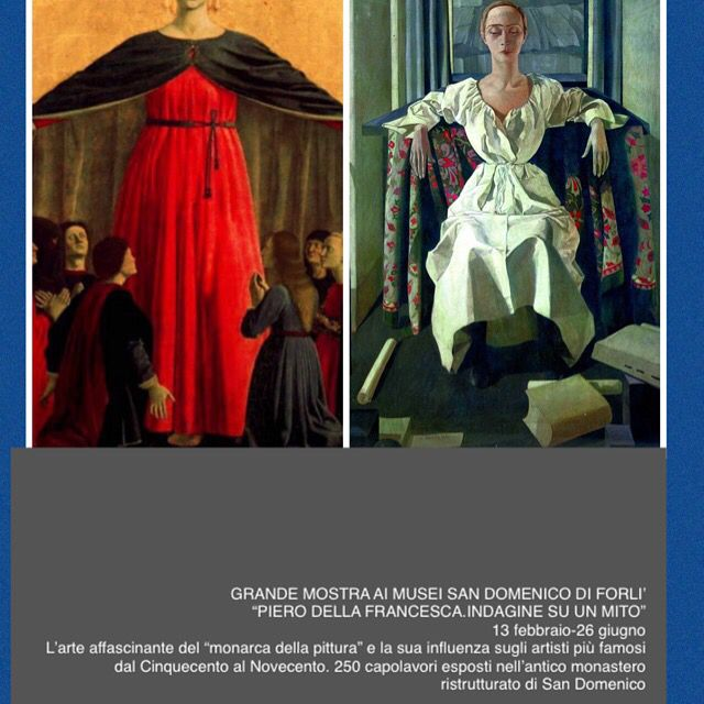 #PierodellaFrancesca Exploring a legend #artexhibition currently taking place in #FORLI  #Italy @museiforli  #SanDomenico #Museums #TerrediPiero We want to share 1️⃣of the #🆒est #coolest things that are going on with you #artexhibition #tourism #touring #artoftheday #cultureday #artlife #italianartist #iloveit