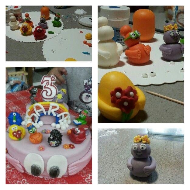 I Barbapapa di Sara - torta di compleanno birthday cake 2013