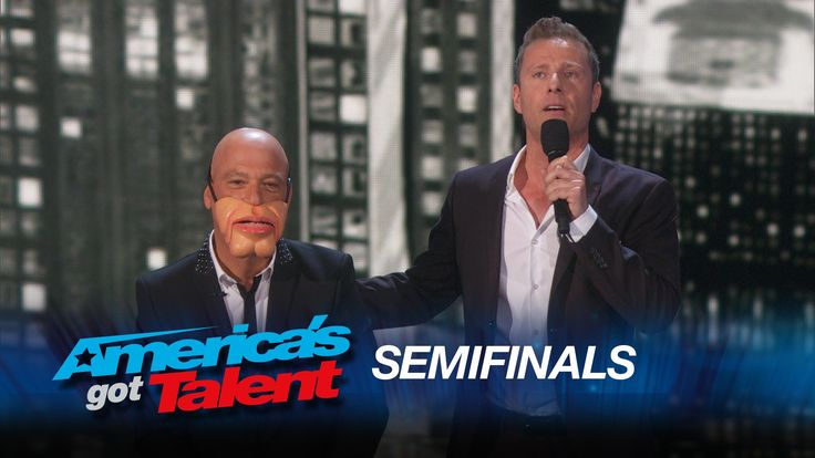 Paul Zerdin: Ventriloquist Turns Howie Mandel into a Doll - America's Go...