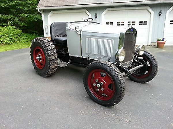 Antique Police Cars For Sale >> Ford : Model A doodlebug 1930 Ford Model A / AA show truck doodlebug parade estate tug tractor ...