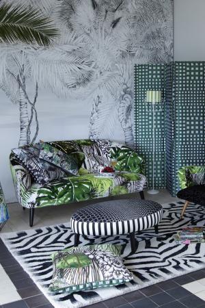 Maison 2014 | Green Living: Design Guild, Floral Sofas, Interiors, 2014 Collection, Maison 2014, Colour Lounges
