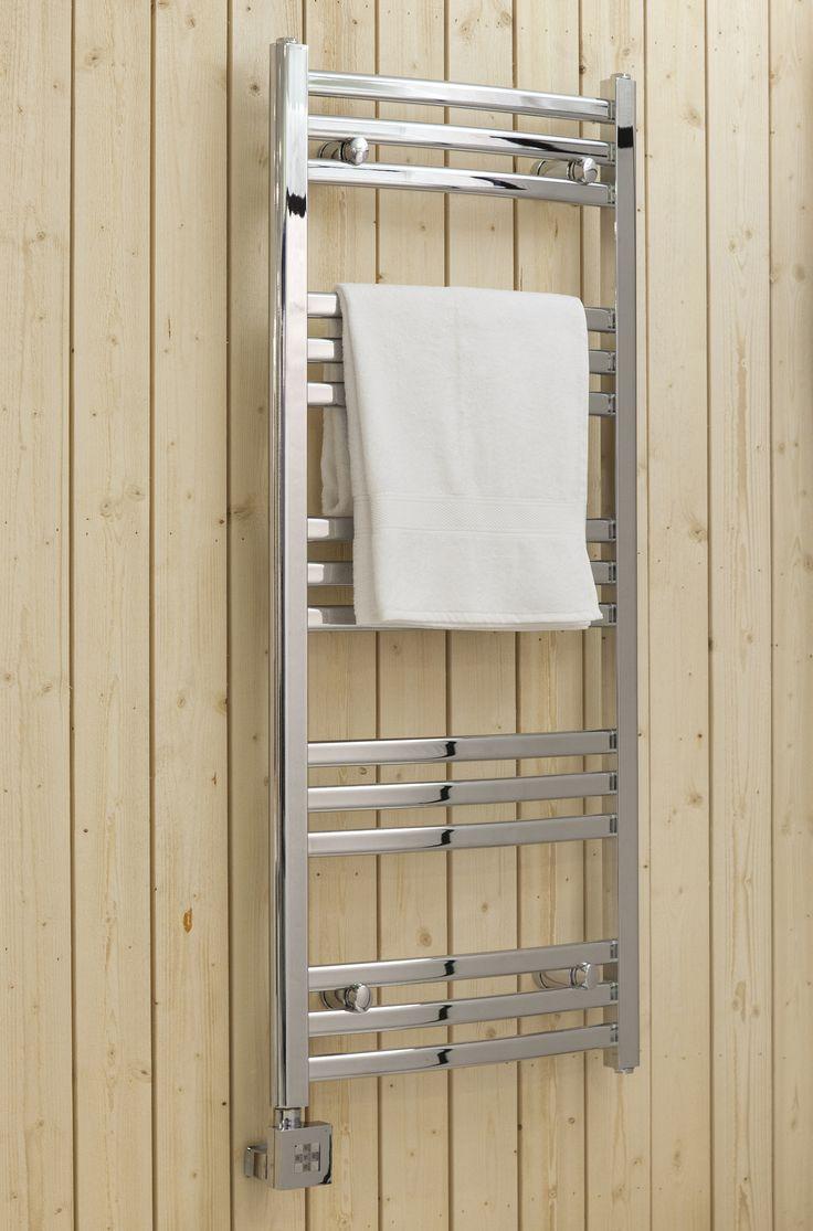 Scalda handdukstork välvd modell, ovala ribbor | Alterna badrum