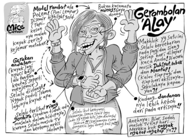 Gerombolan 'Alay' (Benny and Mice)