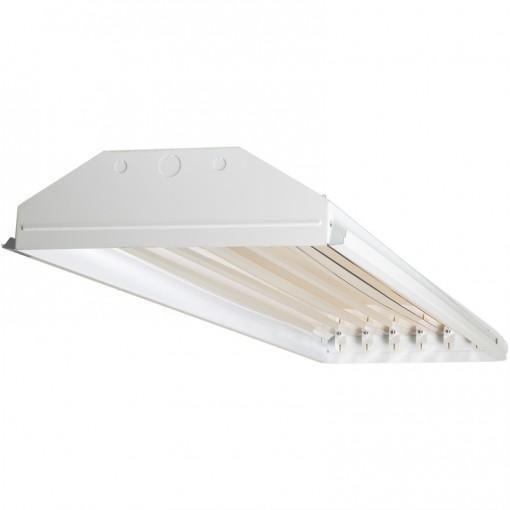 TechBrite 6-Light T8 LED High Bay - 13,500 Lumens - 5000K - 108W