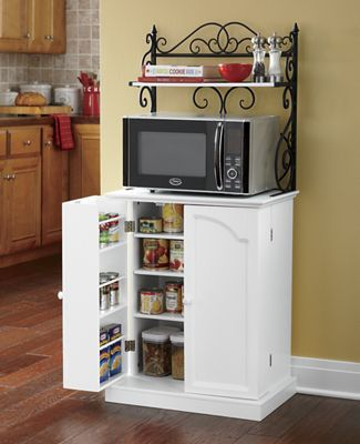 Scroll Microwave/Pantry Stand: $199.95