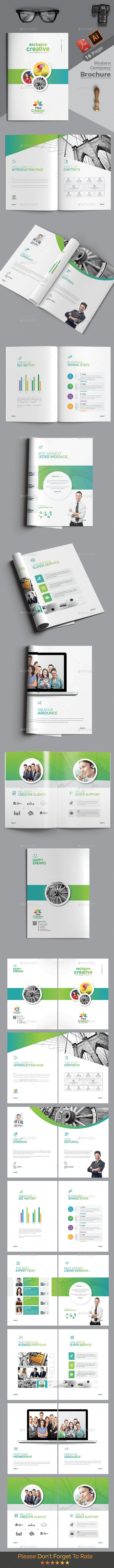 Brochure #creative brochure #agency brochure • Download ➝ https://graphicriver.net/item/brochure/21216123?ref=pxcr