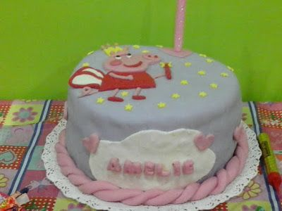 C Y S Candy Bar: Torta de Peppa pig para Amelie, que festejó sus 2 ...
