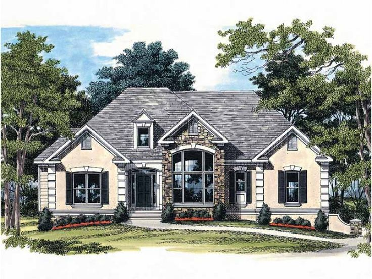 Best Homes Images On Pinterest House Floor Plans Ranch
