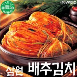 [주말특가/무료배송] 삼원배추김치
