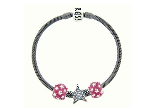 Moress Stackable Starfish Charm Bracelet
