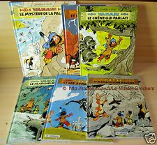 YAKARI (indien) Tome 25_27_28_30_31_34 Lot 6 BD EO Bande dessinée LE LOMBARD