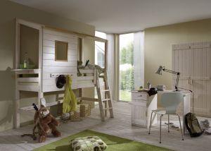 Complete boomhut slaapkamer met hoog bed | Jongenskamers