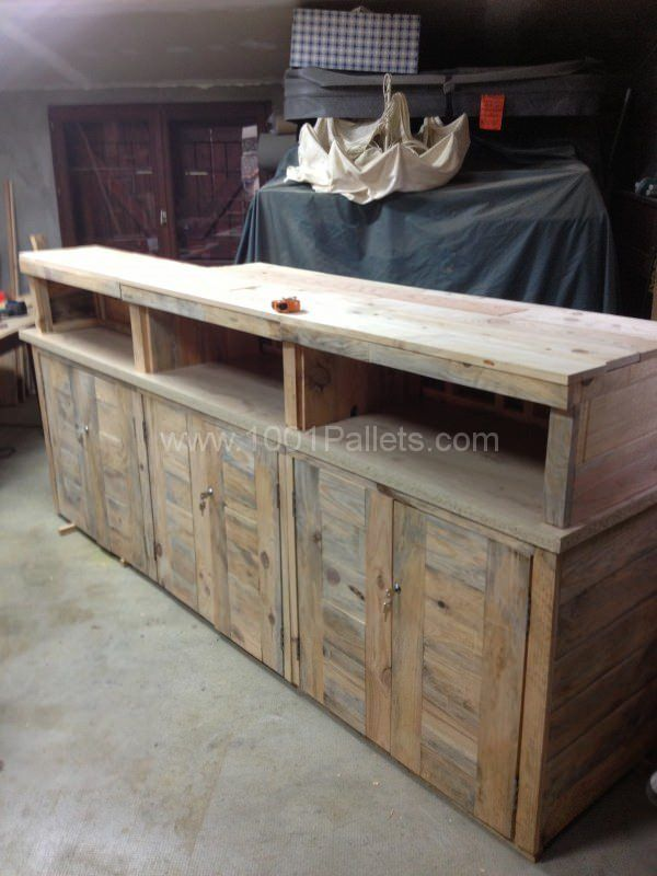 Pallet Reception Counter Pallet Ideas Pallets And