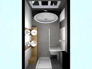 Mooie indeling van badkamer